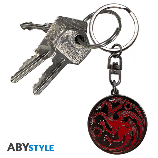 GAME OF THRONES - GAME OF THRONES PORTE-CLES TARGARYEN - ABYSTYLE 59b59fcf0f6